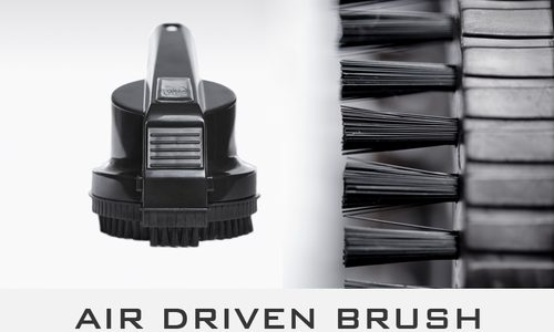 The Air Driven Brush